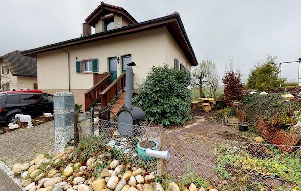 Dachwohnung mit Weitsicht ins Grüne