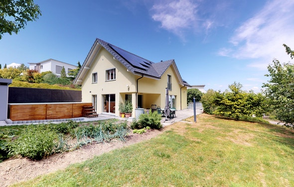 Detached family house with high standard
