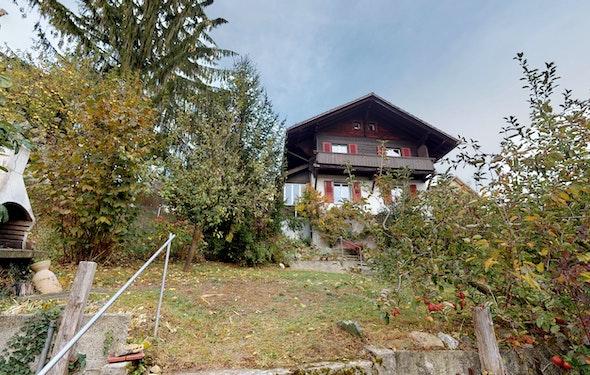 Haus im Chalet-Stil mit Potenzial
