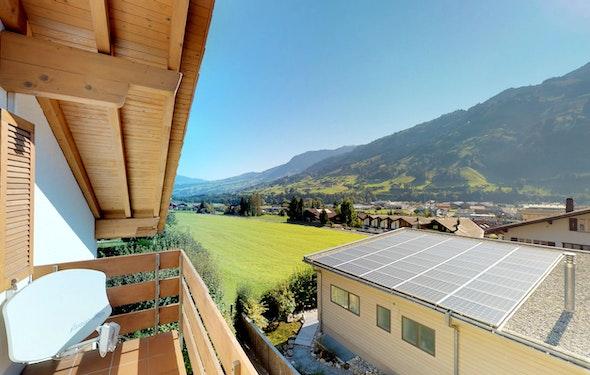 Schöne Dachwohnung mit herrlicher Aussicht