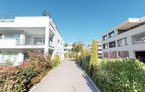 Hoher Standard und grosse Terrassen