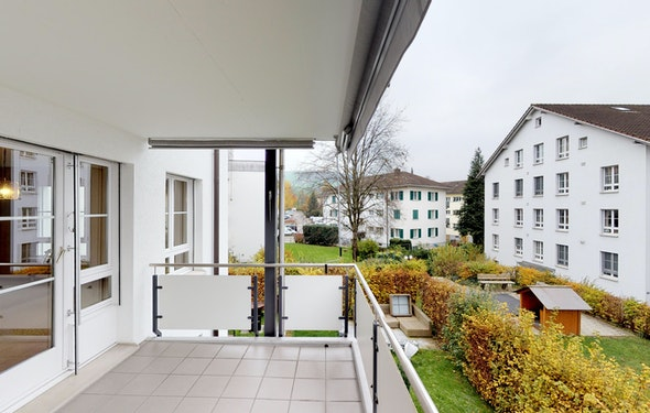 Ruhig gelegene Wohnung nahe der Stadt Zug