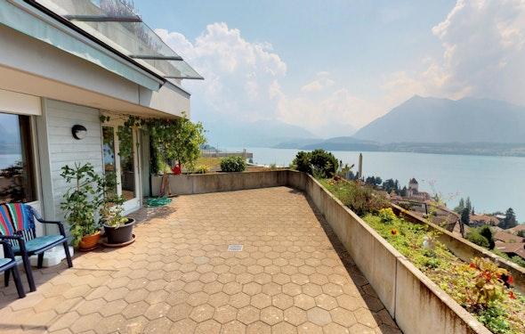 Exklusive Terrassenwohnung mit Traumsicht